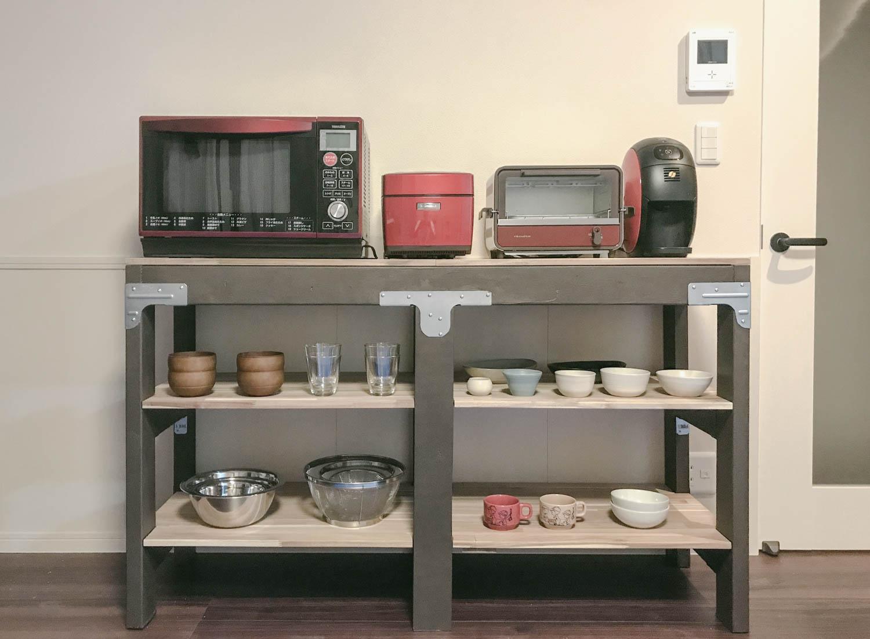 【kee clip diy-003】シンプソンのオリジナルキットをアレンジして食器棚を簡単DIY